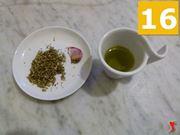 olio, origano e aglio