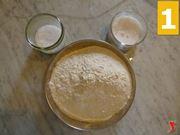 farina sale e zucchero
