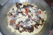 Pizza con le verdure