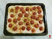 pizza prima della cottura