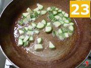zucchine in cottura