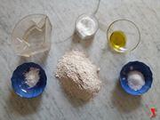 farina a fontanella e altri ingredienti del pane