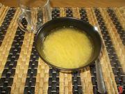 Gli spaghetti in brodo