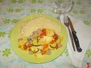 Il cous cous di carne e verdure