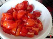 taglio i pomodorini