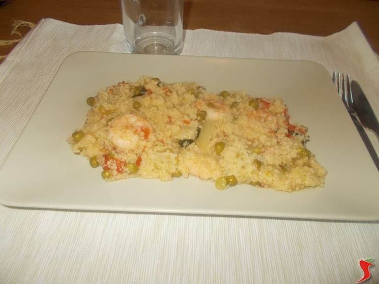 Cous cous gamberetti