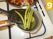 Lessare la patata e i fagiolini