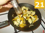Terminare la cottura dei vegetali