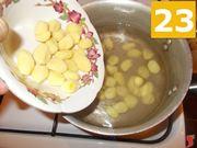 Cuocete degli gnocchi