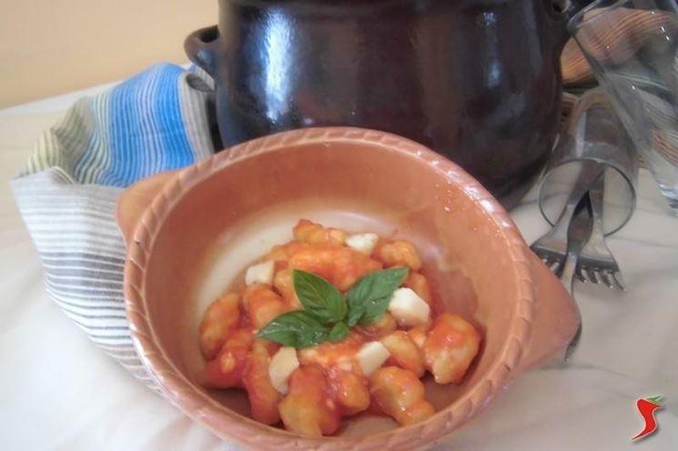Gnocchi di zucca con patate