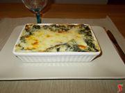 Le lasagne con gli spinaci