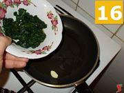 La cottura degli spinaci