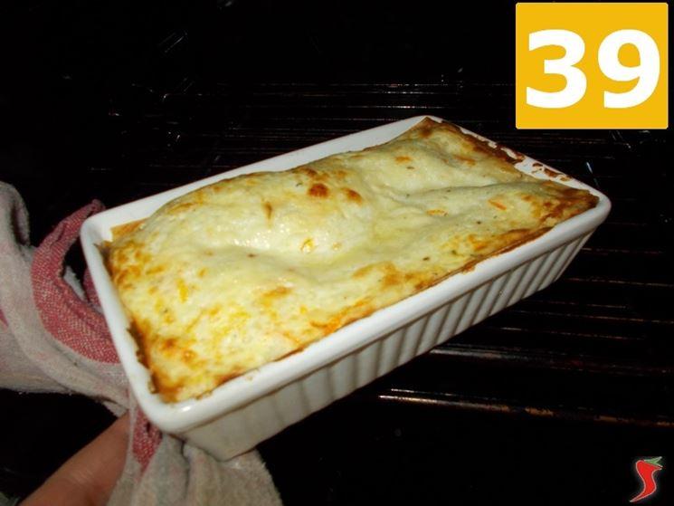 Le lasagne alla ricotta