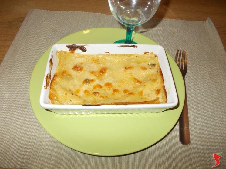 lasagne con gli asparagi