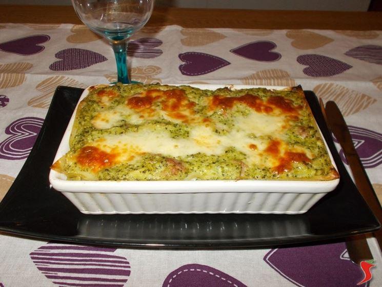 Lasagne agli broccoli