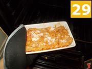 La cottura della lasagna