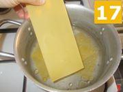 Cottura della lasagna
