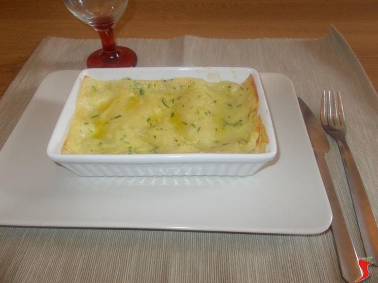Lasagna con zucchine