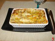 Le lasagne gorgonzola e noci