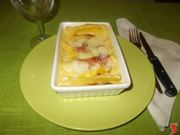lasagne prosciutto