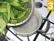 Pulite gli spinaci