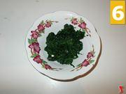 Tritate gli spinaci