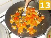 La cottura dei pomodori