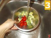 Lavare gli ortaggi
