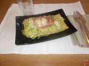 Lasagna zucchine e prosciutto cotto