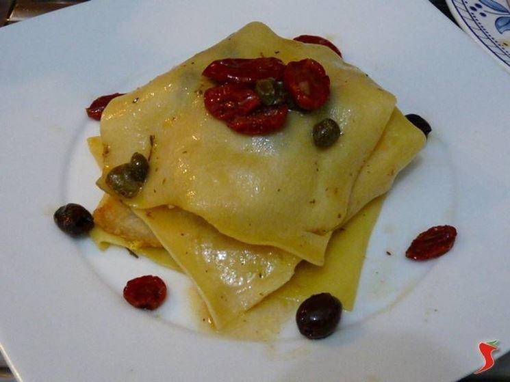 lasagne fredde con pesce