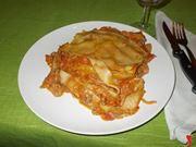 La lasagna al ragù