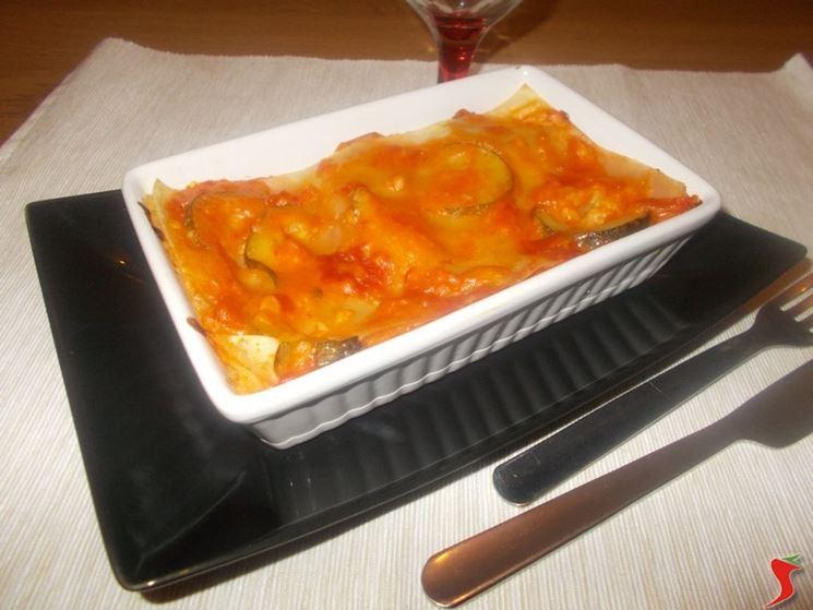 Lasagne zucchine
