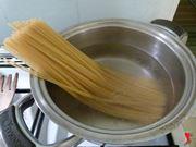 pasta in cottura