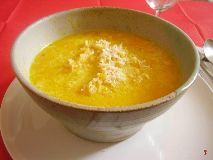 minestra di carote