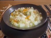 Minestra con patate ricetta