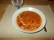 minestra di fagioli