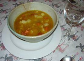 minestra di patate ricetta