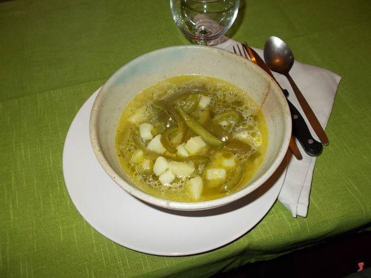 La minestra di peperoni