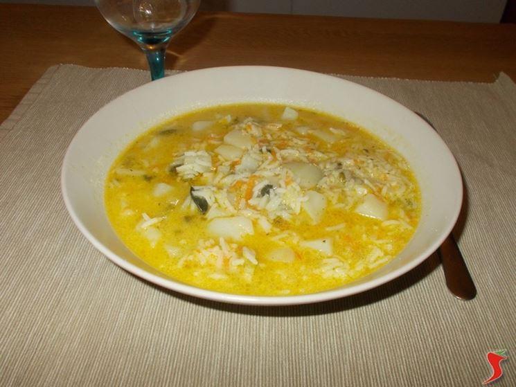minestra riso