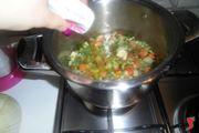 cottura del minestrone surgelato