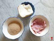 provola, prosciutto e pane grattugiato