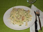 La pasta con gli asparagi