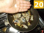 La cottura delle sarde
