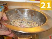 Terminate la cottura della pasta
