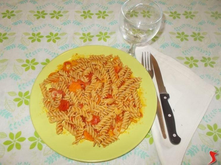 Una ricetta con la pasta integrale
