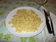 La pasta ai quattro formaggi