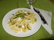 La pasta con ricotta e zucchine