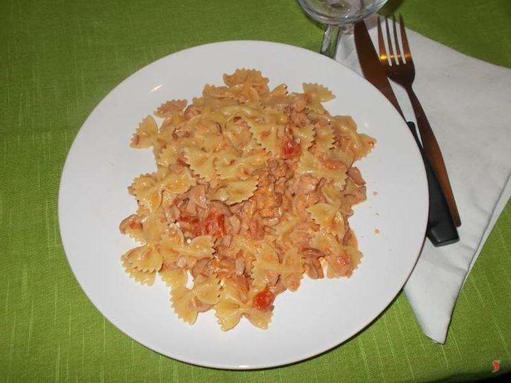 La pasta con i wurstel