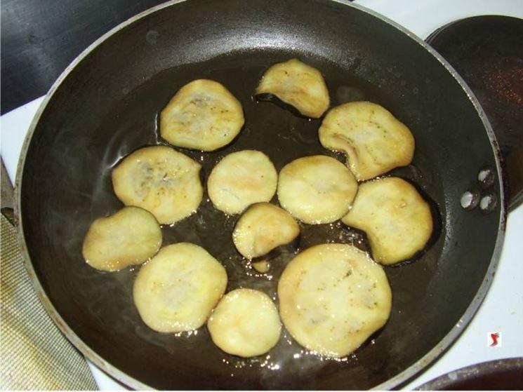 friggere le melanzane