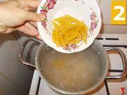 Cuocete la pasta